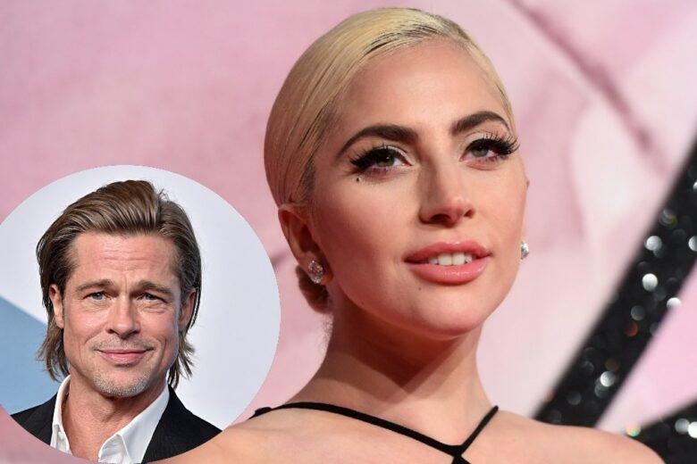 Lady Gaga è in trattativa per recitare in un film con Brad Pitt
