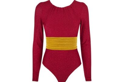 malì_beachwear_fall_collection_body_rosso_maniche-strette+cintura_goffrata_davanti_
