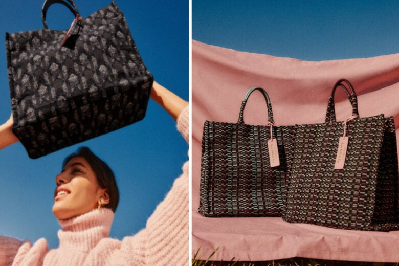"""Never Without Bag di Coccinelle, la borsa che cambia """"abito"""" ogni stagione"""