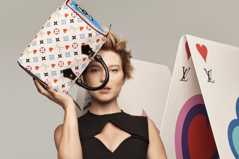 Louis Vuitton: poker di stile con i nuovi accessori che giocano con le carte