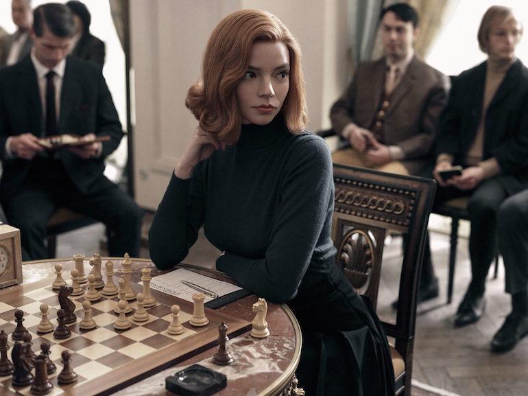 Anya Taylor-Joy scacchi