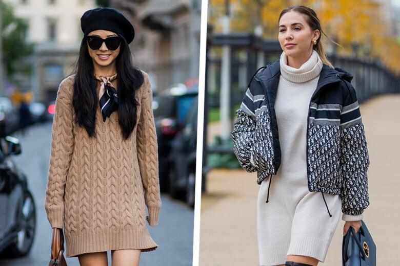 Abiti in maglia: come abbinare il capo più cozy della stagione fredda