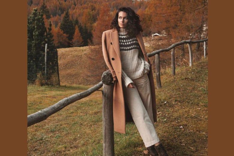 Paola Turani e il suo look chic da montagna (ma anche da città, eh!)