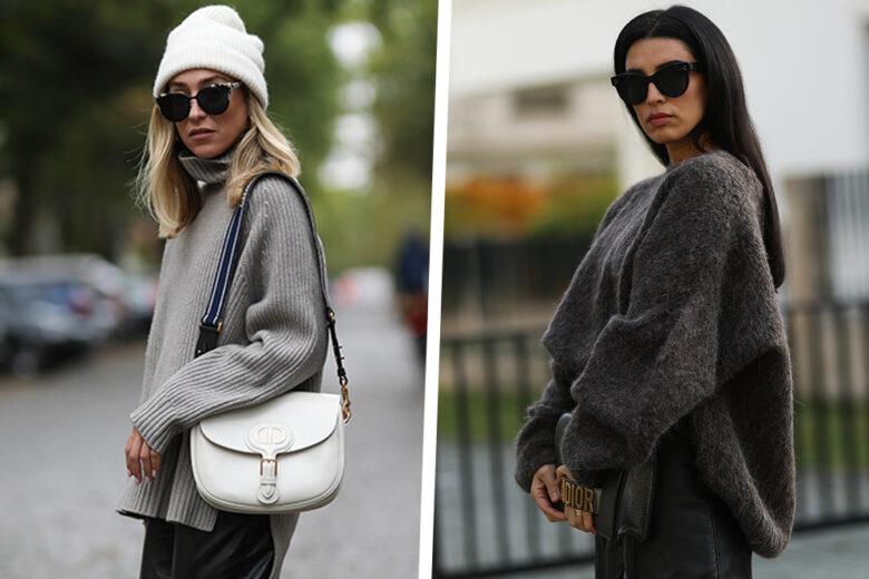 Maglioni oversize: come indossarli in 5 look mix&match