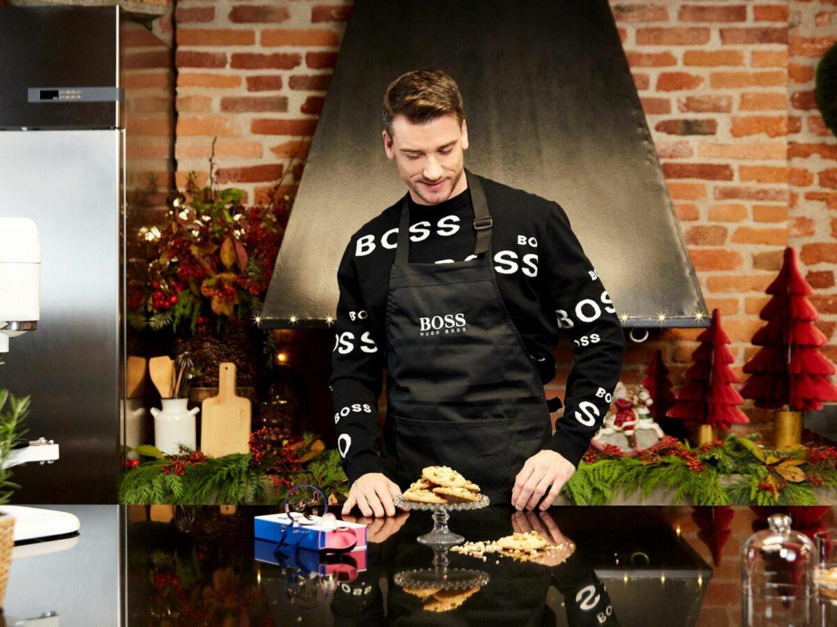 Hugo boos e lo chef Damiano Carraro insieme per Natale 42