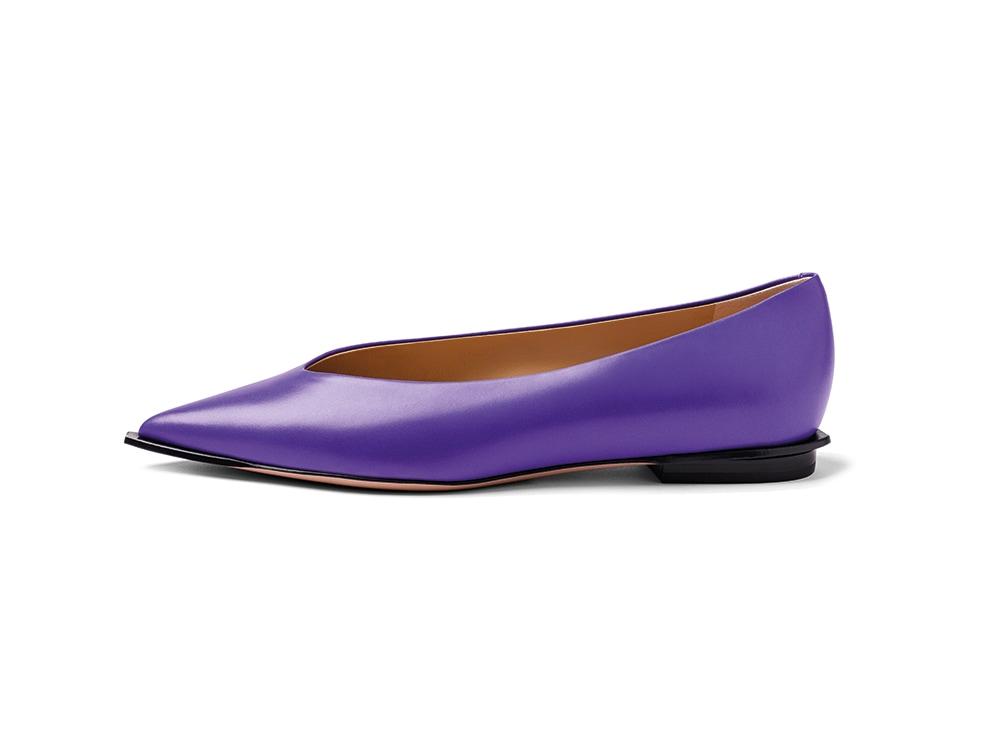 PELLICO-ballerine-in-pelle-purple