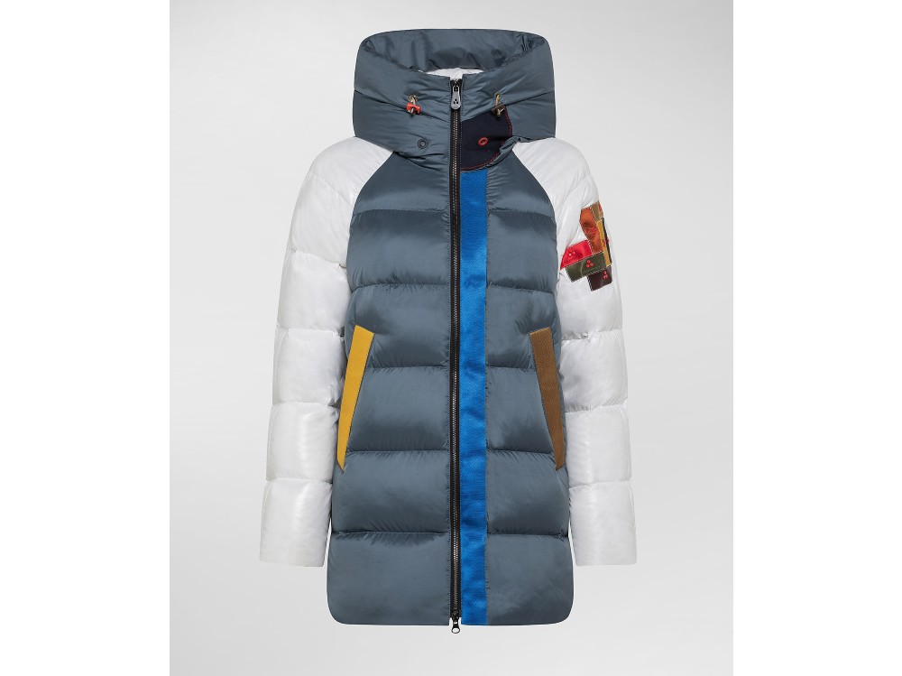 Peuterey_Woman_Down Jackets_Limited Edition Puffer Jacket_Multicolor_PED398401181630BIATT_7