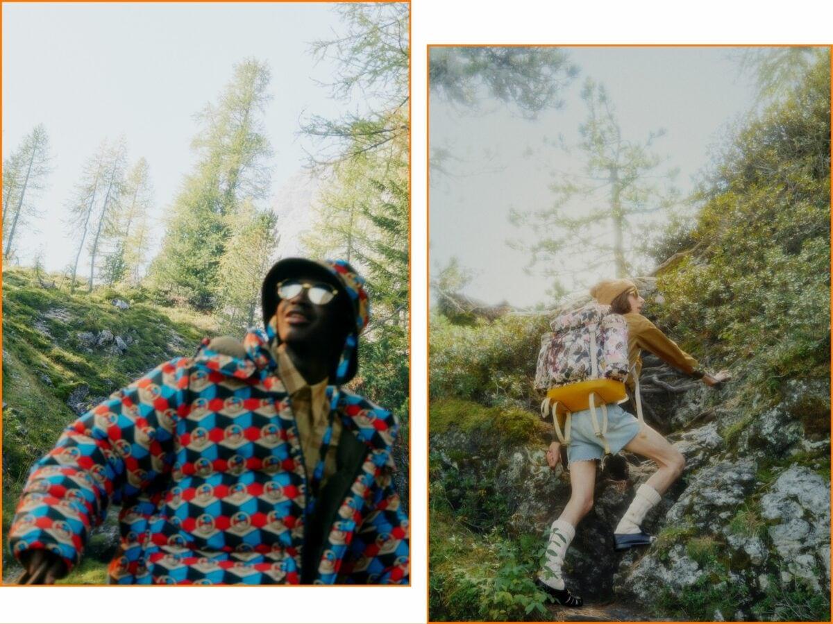 The North Face x Gucci nuova campagna 42