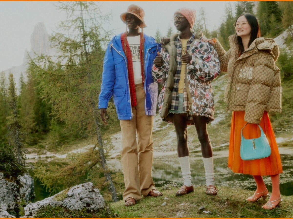 The North Face x Gucci nuova campagna 43