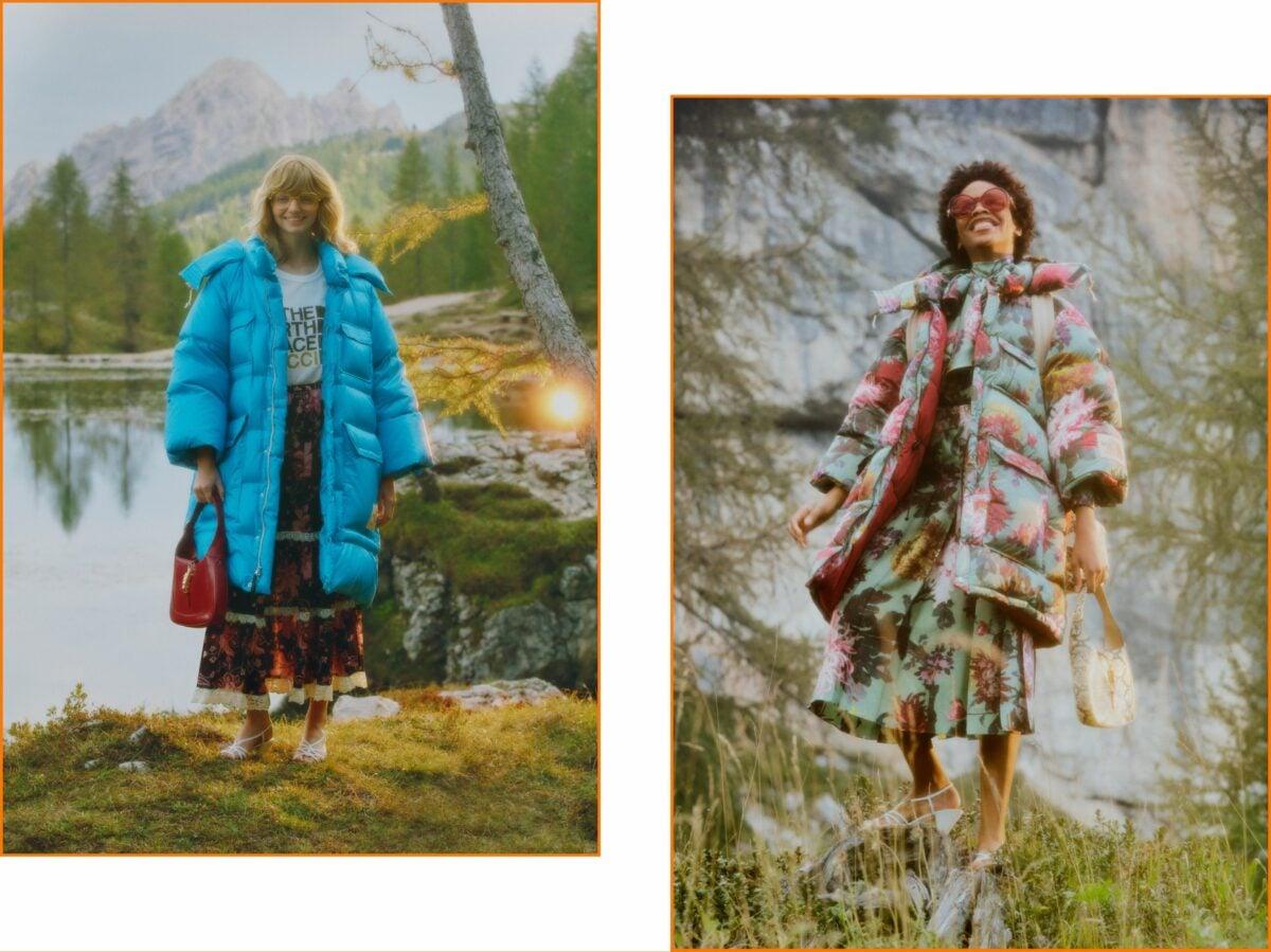 The North Face x Gucci nuova campagna 46