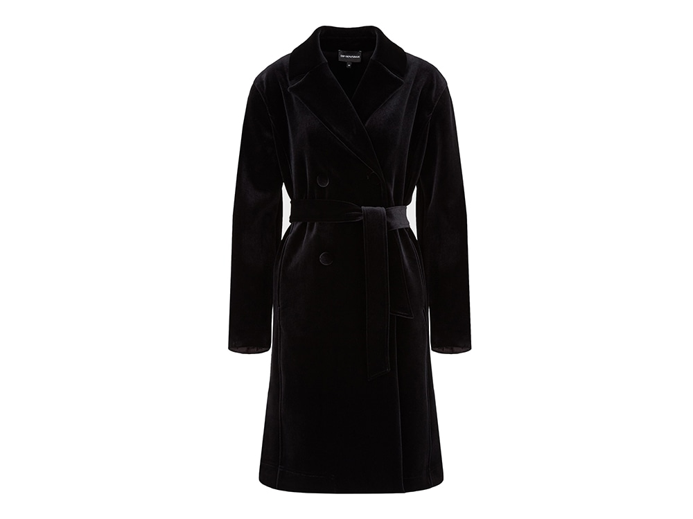 emporio-armani-cappotto-doppio-petto-in-velluto-con-cintura