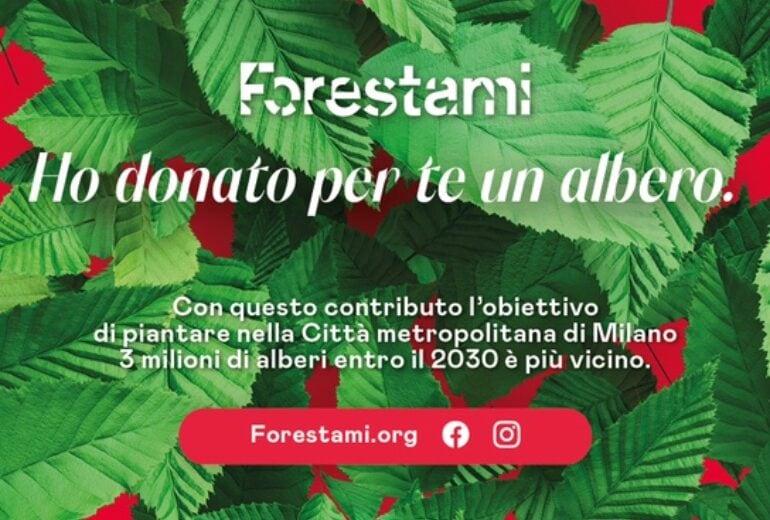 ForestaMi: il regalo di Natale per chi vuole rendere più verde Milano