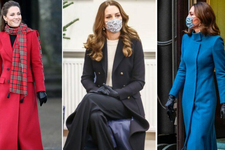 """Kate Middleton, regina dei cappotti! 5 modelli da copiarle per un look """"regale""""  anche d'inverno"""