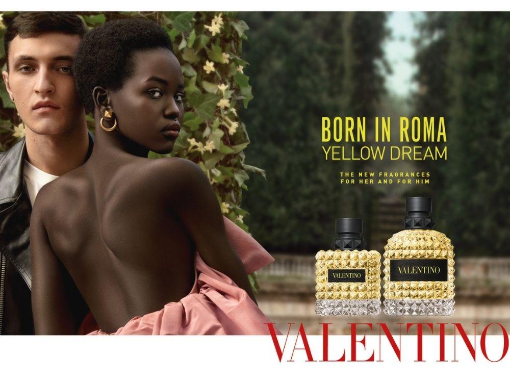 Born in Roma Yellow Dream di Valentino si ispira alla luce della Capitale