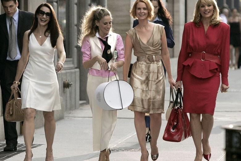 """Torna in tv """"Sex and the City"""": ecco come immaginiamo lo stile di Carrie & Co. nei nuovi episodi"""
