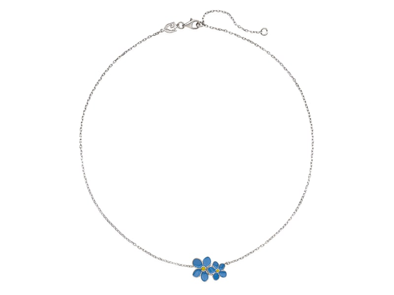 Collana-con-fiore-non-ti-scordar-di-me-in-argento-e-smalto-color-CHANTECLER-linea-EtVoilà