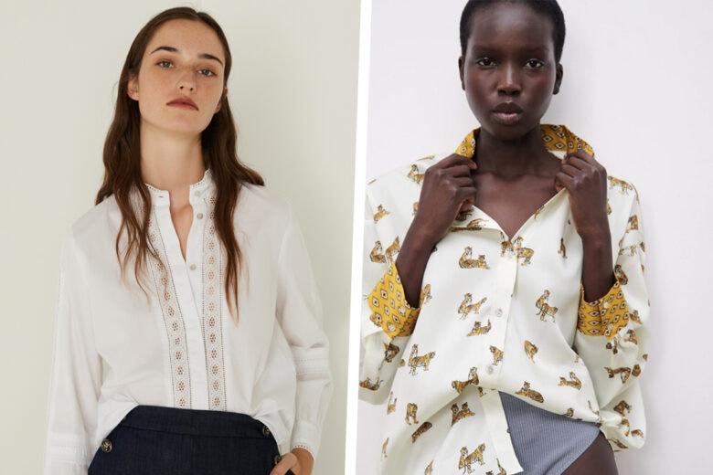 Le camicie nel guardaroba non sono mai abbastanza, vero? Scoprite con noi le versioni più chic per la primavera!