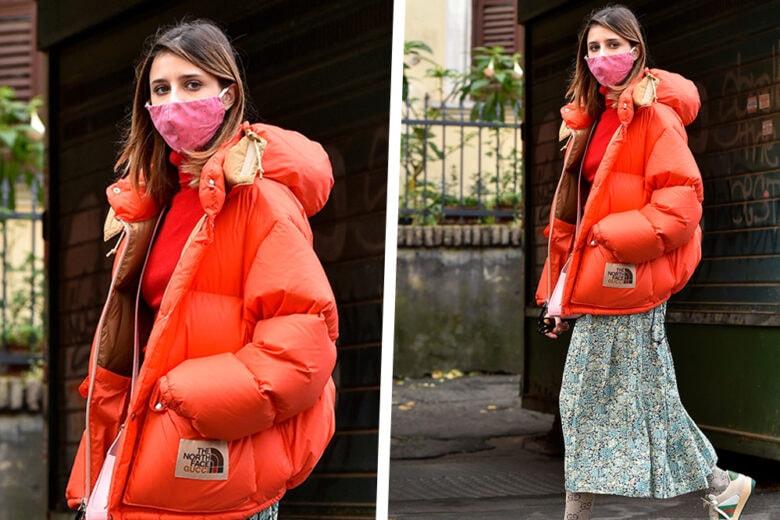 Benedetta Porcaroli affronta l'inverno con stile (complice il bomber più cool del momento)