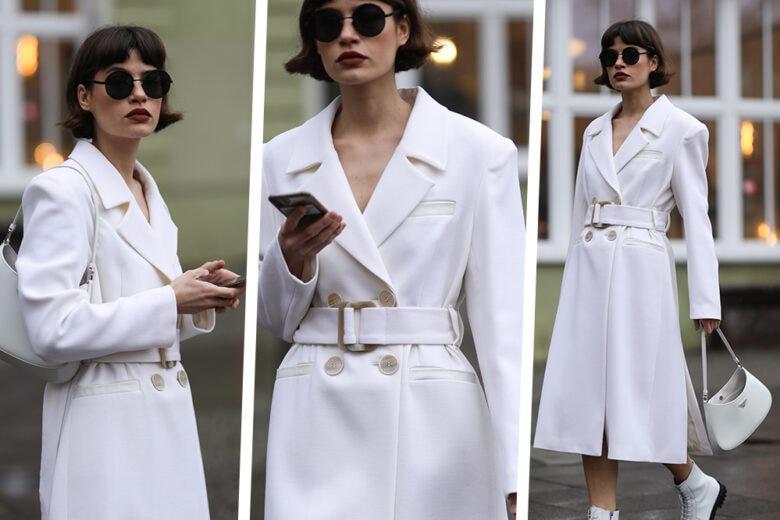 Il look total white è tra le scelte più chic che possiate fare: provare per credere!