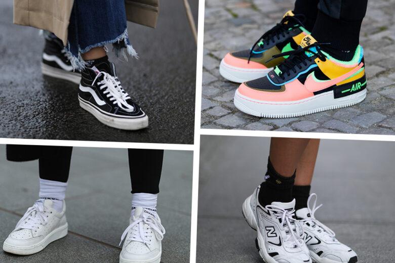Sneakers: chunky o minimal, ecco i modelli must della primavera 2021