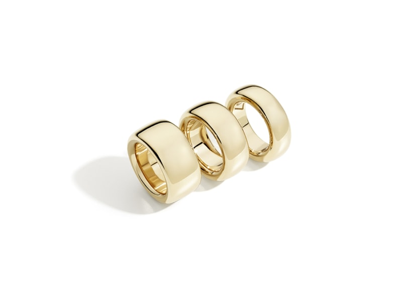 Iconica-rose-gold-band-rings-by-Pomellato