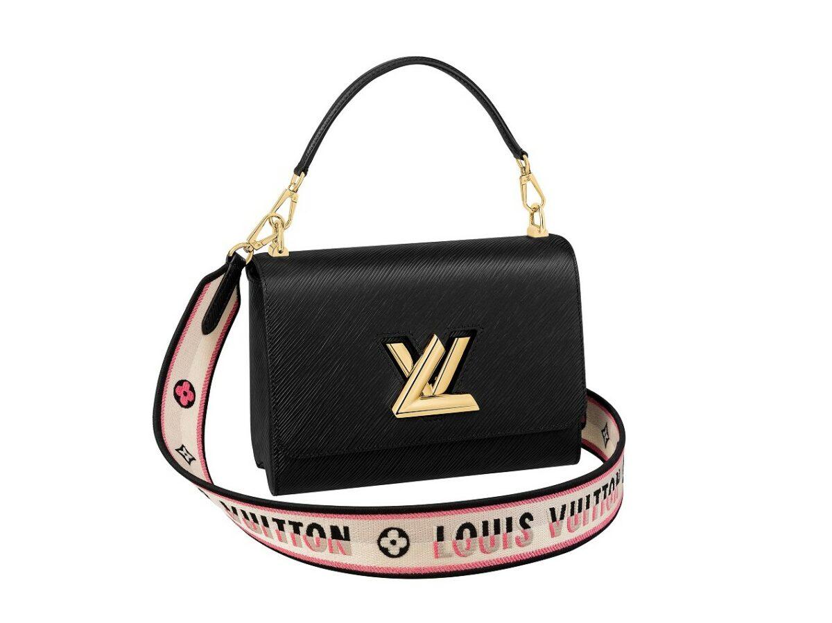 Twist_pelle Epi e tracolla jacquard Vuitton