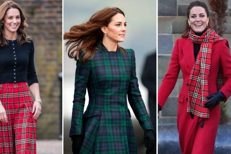 Tartan: anche Kate Middleton adora la stampa scozzese (e ci sono le prove)