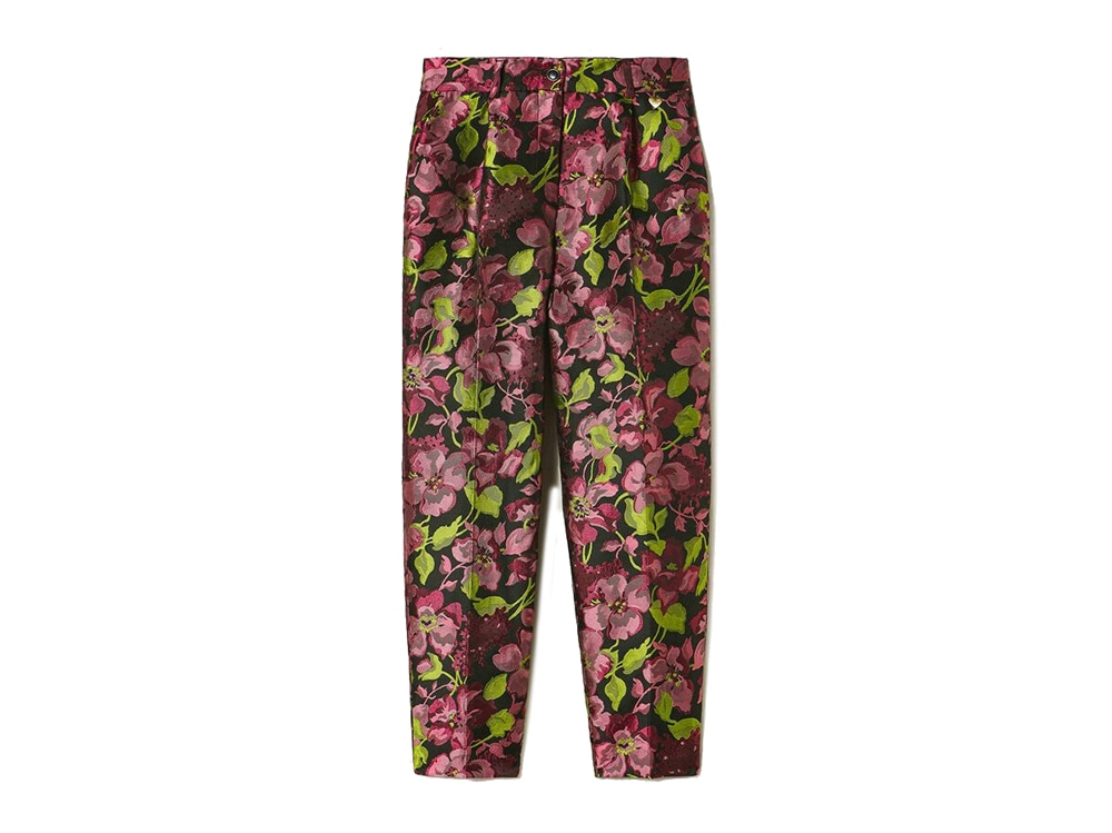 twinset-pantalone-floreale-in-jacquard