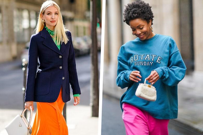 Color mix rules: ecco come abbinare i colori negli outfit
