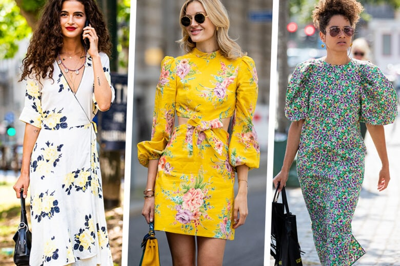 Fleur-à-porter: gli abiti floreali che portano aria di primavera!