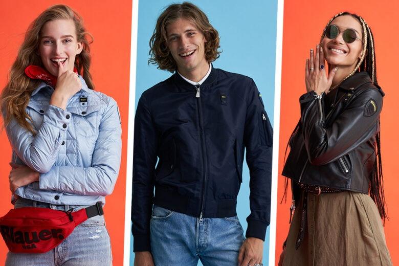 """""""Smile"""", la nuova campagna per la primavera-estate 2021 di Blauer Usa che ci invita a sorridere"""