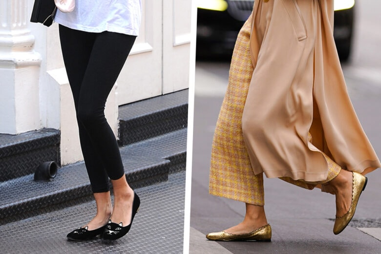 Ballerine how to wear: 4 look  con protagoniste le scarpe must di stagione!