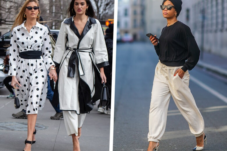 Black and White: 5 look mix&match in bianco e nero