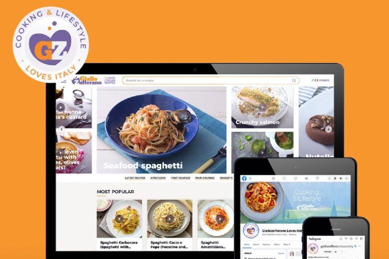 GialloZafferano è nella top 10 mondiale dei siti di food più seguiti!