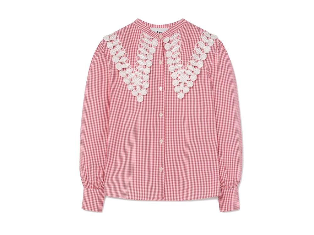 Gingham-pink-Shirt-LA-VESTE
