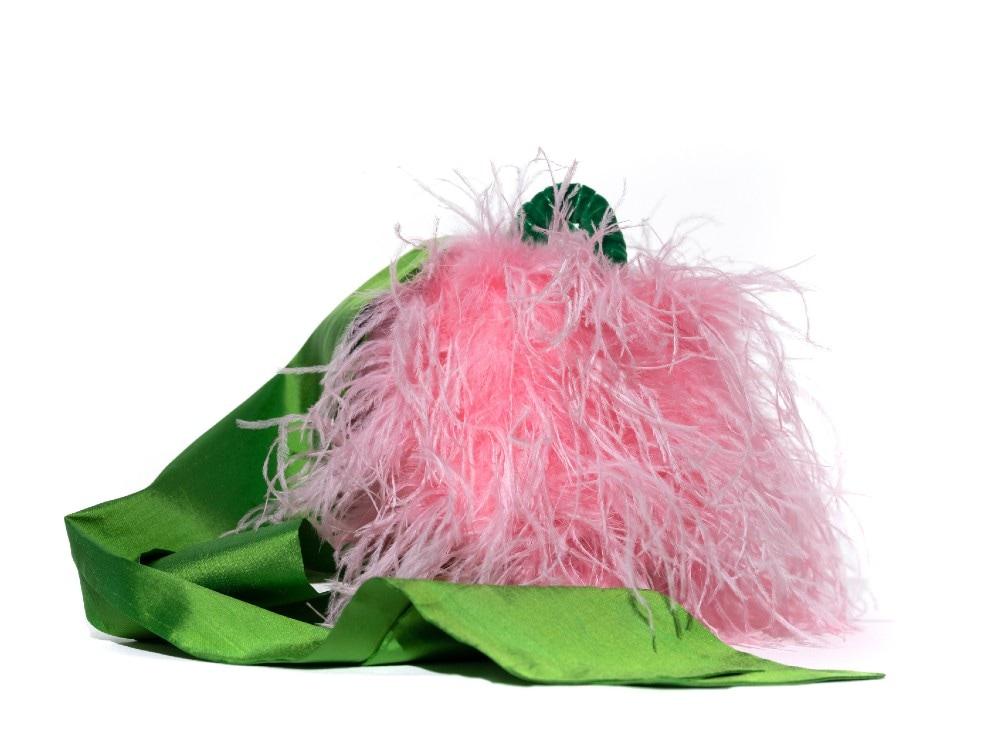 Pescepazzo Coffa bucket Rosa e Verde