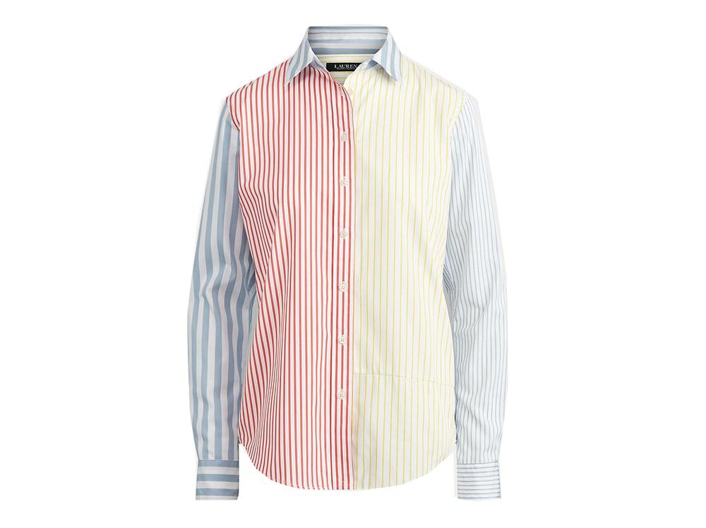 RALPH-LAUREN-camicia-a-righe-multicolor