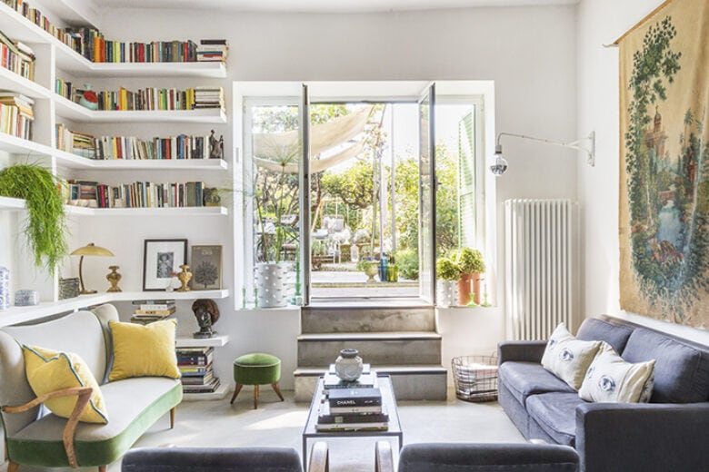 Vi portiamo a sbirciare nella casa-atelier romana del floral designer Dylan Tripp