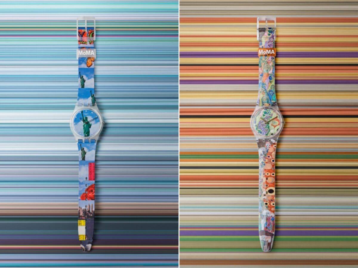 Swatch x MoMa edizione speciale orologi 10