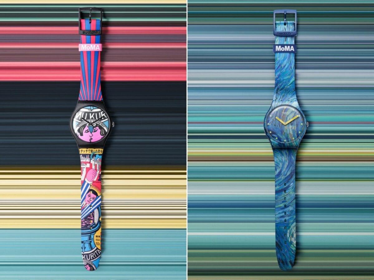 Swatch x MoMa edizione speciale orologi 11
