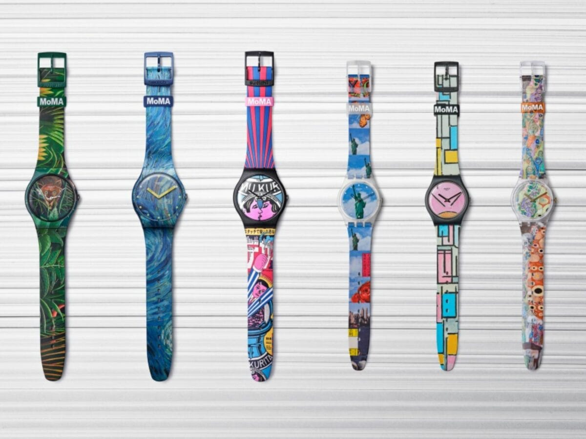 Swatch x MoMa edizione speciale orologi 8