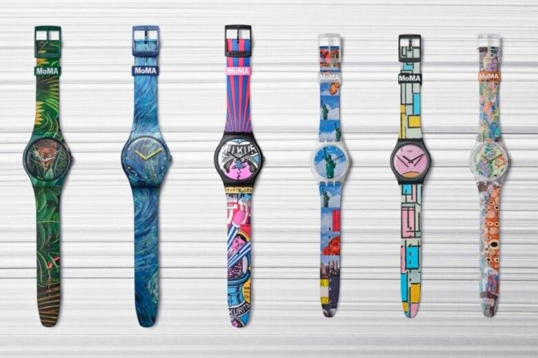 Per collezionisti e appassionati d'arte, arriva la special edition Swatch X MoMA