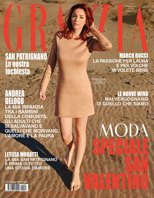 grazia 8 cover