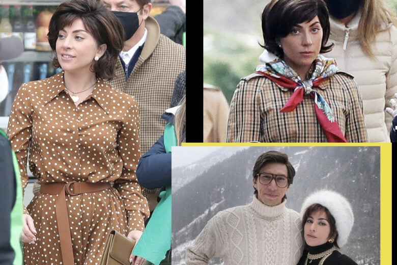 House of Gucci: tutti i look di Lady Gaga sul set (e come ricrearli)