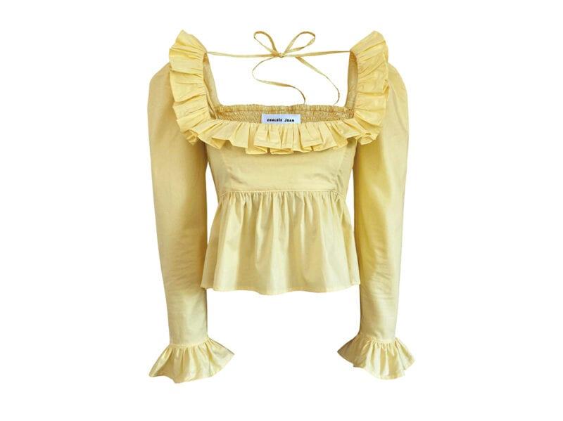 Camicia-gialla-limone,-Chalsie-Joan