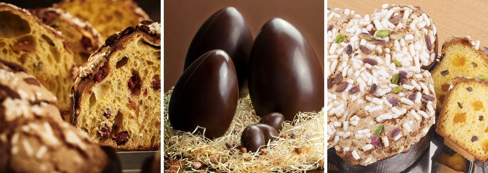Colombe e uova pasqua artigianali delivery DESK