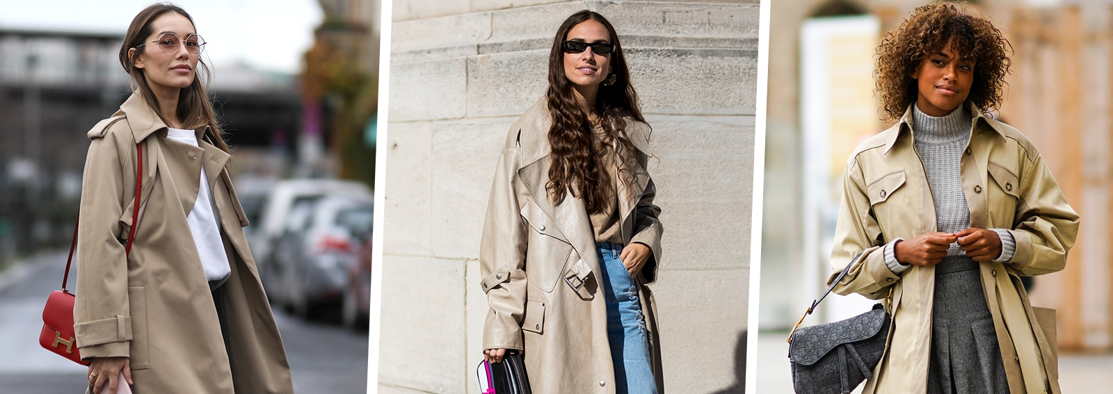 trench idee look street style