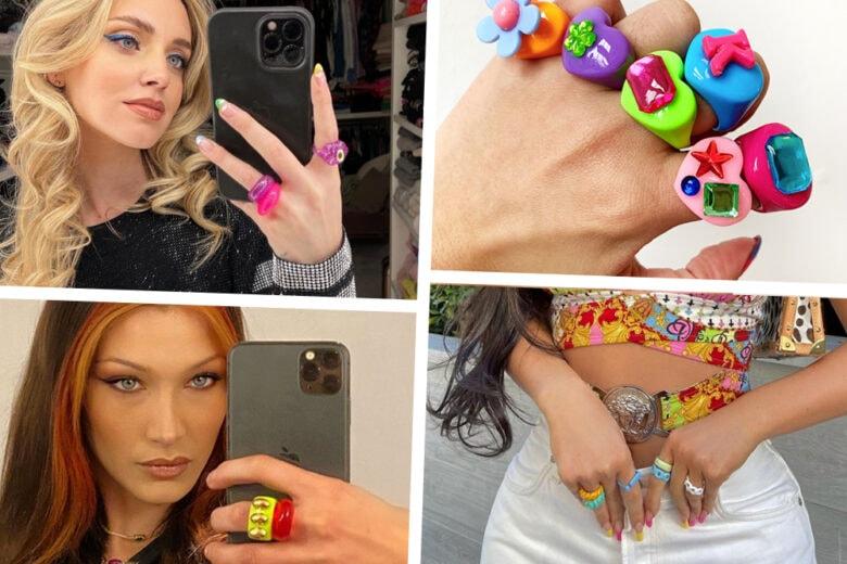 """Gli anelli """"juicy"""" e colorati sono il trend a cui è impossibile resistere"""