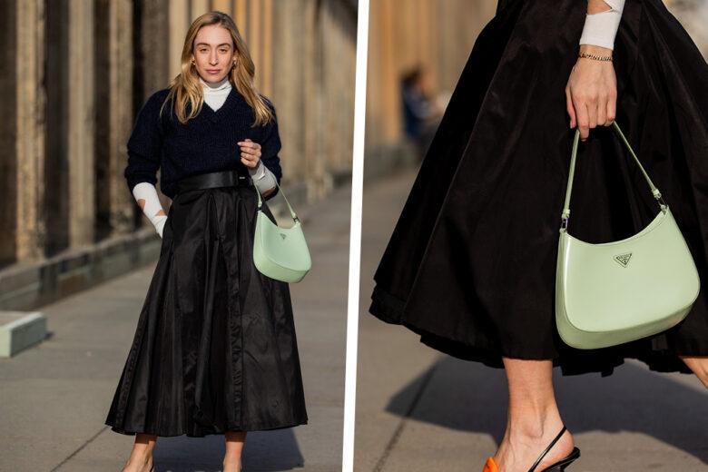 Come vivacizzare un look dark (e indossarlo anche in primavera)? Ce lo mostra Sonia Lyson!