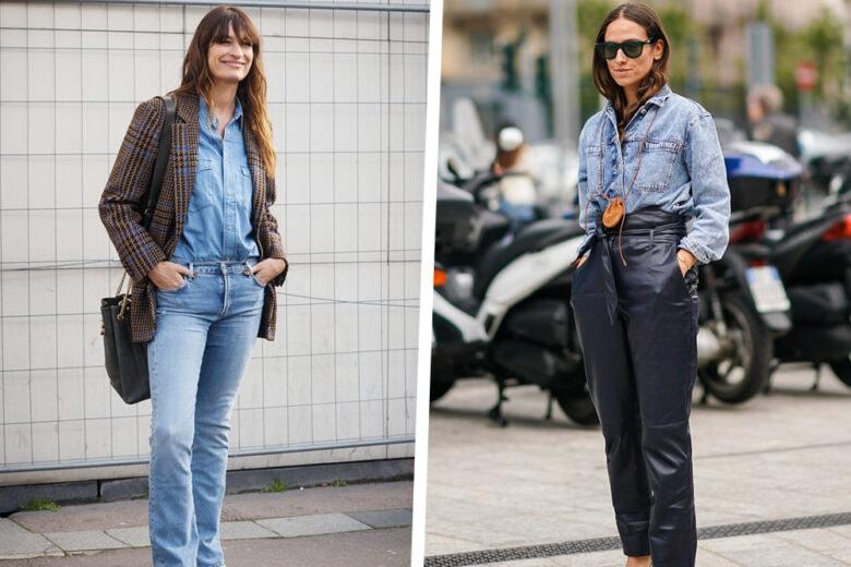Denim addiction: 5 look con la camicia di jeans da provare subito